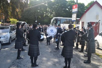 band before parade