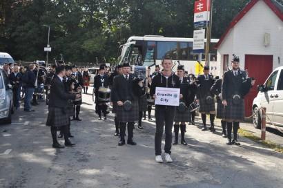 before parade